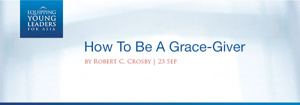 How To Be A Grace Giver