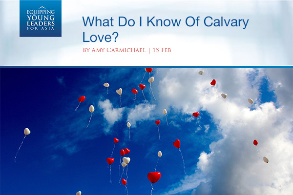 What Do I Know Of Calvary Love?
