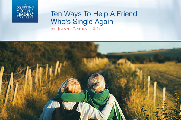 Ten Ways To Help A Friend Who's Single Again